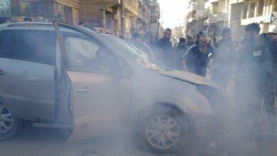 صورة استشهاد مواطن وجرح آخر في اشتباكات وانفجار بعفرين