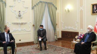 """صورة روحاني يؤكد ضرورة مواصلة الجهود لـ""""إعادة إحياء"""" الاتفاق النووي"""