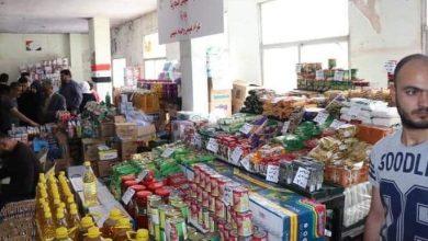 صورة البرازي يفتتح صالة السورية للتجارة بحنجور ويطلع على السوق الخيري بمصياف حماة