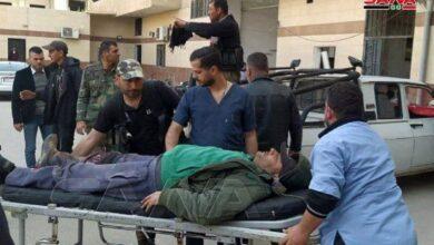 """صورة استشهاد شخص وخطف آخرين في اعتداء لإرهابيي """"داعش"""" بريف السلمية"""