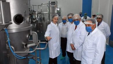 صورة تفقد عدة شركات صناعية خاصة بحماة وزير الصناعة: القطاع الصناعي الخاص رديف وشريك أساسي للعام في العملية الإنتاجية