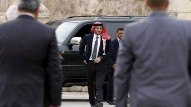 صورة حمزة بن الحسين في رسالة: أضع نفسي بين يدي جلالة الملك