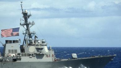 """صورة واشنطن تواصل استفزاز موسكو.. المدمرة الأمريكية """"دونالد كوك"""" في طريقها إلى البحر الأسود"""