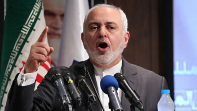 صورة ظريف لغوتيرش: الاستهداف المتعمد لإحدى المنشآت النووية يعتبر إرهابا نوويا وجريمة حرب