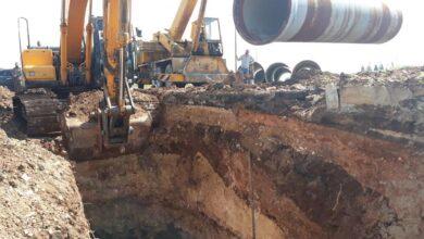 """صورة وزير الموارد المائية لـ""""الوطن"""": خط جر المياه إلى حمص وحماة في الخدمة العام المقبل"""