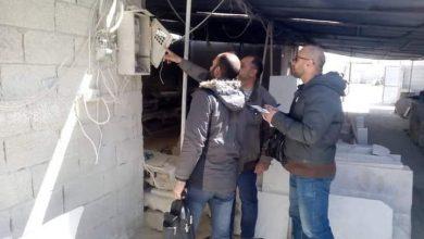 صورة ضبط 438 حرامي كهرباء بحماة