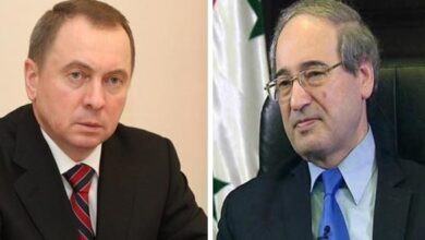 صورة في اتصال مع الوزير المقداد.. وزير خارجية بيلاروس يؤكد التزام بلاده بالوقوف إلى جانب سورية
