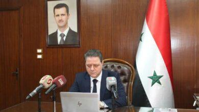 صورة عبد اللطيف: الحكومة السورية خلقت حلولاً إبداعية لتحسين واقع المدن الحالية والمستقبلية والنهوض بها اقتصادياً واجتماعياً