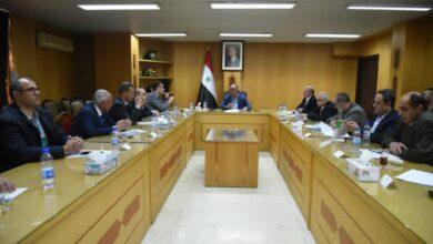 صورة الوزير البرازي يلتقي أعضاء مجلس مدينة دمشق.. قريبا توزيع الخبز عبر الصالات والأكشاك وآلية جديدة لعمل وتوزيع المعتمدين
