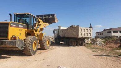 صورة اللجنة الوزارية لتتبع مشاريع حلب تتفقد فتح شوارع في ضاحية الأسد وصلاح الدين