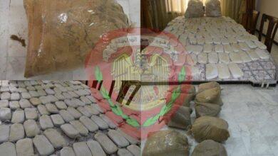 صورة فرع مكافحة المخدرات في حمص يضبط كمية كبيرة من المواد المخدرة