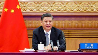 صورة شي جينبينغ: ضرورة الالتزام بتعددية الأطراف والعمل على أساس القانون الدولي