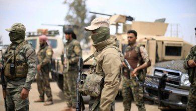"""صورة استشهاد مدنيين اثنين برصاص """"داعش"""" و """"قسد"""" بريف الرقة"""