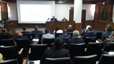 صورة وزير التموين من حمص: لن يكون هناك تساهل مع التجار و الموردين الكبار المخالفين