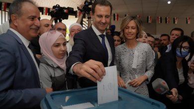 """صورة بـ """"أغلبية مطلقة"""" الدكتور بشار الأسد رئيس سورية لولاية جديدة"""