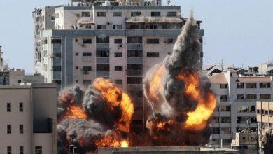 """صورة العفو الدولية: تدمير المؤسسات الإعلامية في غزة """"جريمة حرب"""" .. و""""أسوشيتد برس"""" تطالب بالتحقيق"""