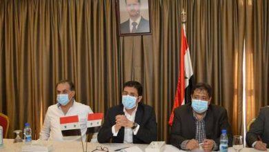 صورة الغباش من حلب: تسهيل إجراءات التعاقد مع الكوادر الطبية وتأهيل المشافي والمراكز الصحية