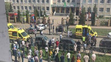 صورة قتلى وجرحى بحادث إطلاق نار وسط روسيا