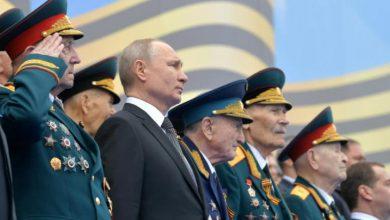 صورة بوتين: يوم النصر يحظى بأهمية تاريخية هائلة لمصير العالم أجمع