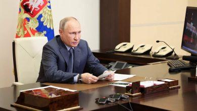 صورة بوتين: سأناقش مع بايدن الوضع في سورية