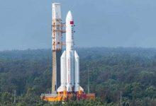 صورة منظمة فضائية أمريكية تتوقع سقوط الصاروخ الصيني التائه فوق دولة عربية