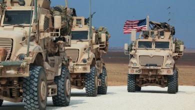صورة الاحتلال الأميركي يدخل 10 ناقلات محملة بعربات عسكرية إلى قواعده بريف الحسكة