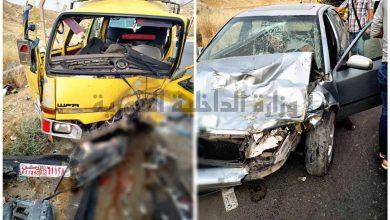 صورة إصابات بحادث سير في دمشق