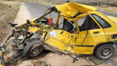 صورة 3 وفيات وإصابتين بحادث مروري على طريق رنكوس – صيدنايا