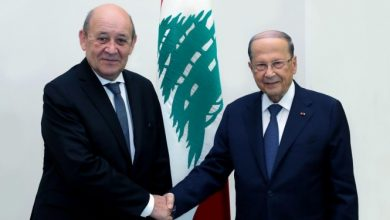 صورة بعد تصريحات مستفزة.. وزير الخارجية الفرنسي يبدأ جولته في لبنان