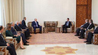 صورة الرئيس الأسد يبحث مع رئيس جمهورية أبخازيا مجالات التعاون الثنائي وآفاق تطويره والمواضيع ذات الشأن السياسي