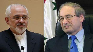 صورة المقداد وظريف يبحثان العلاقات بين سورية وإيران وسبل تطويرها وتعزيزها