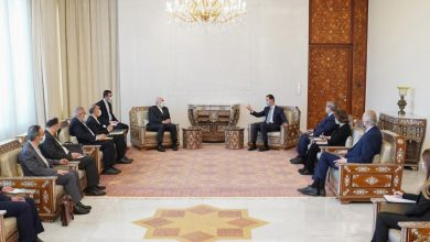 صورة الرئيس الأسد يستقبل ظريف والمحادثات تتناول العلاقات الثنائية وتعزيز التعاون المشترك وتطورات الأوضاع بالمنطقة