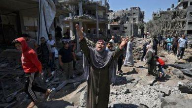 صورة العدوان الإسرائيلي مستمر على غزة لليوم الخامس.. والمقاومة ترد بقوة
