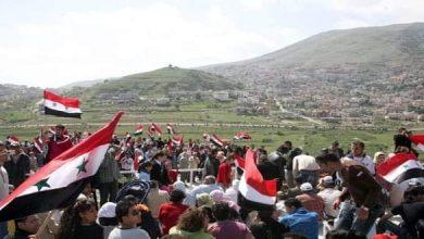 صورة غدا الثلاثاء.. إضراب عام لأبناء الجـولان السوري المحتـل تضامناً مع فلسطين المحتــلة