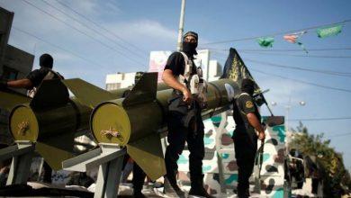 """صورة صواريخ على """"تل أبيب"""".. وجيش الاحتلال يهدد بضربة كبيرة"""