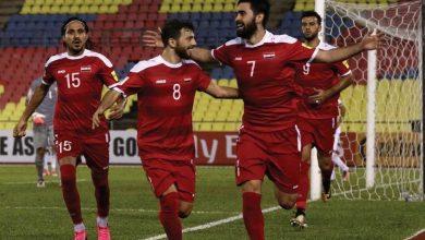 صورة منتخبنا الوطني لكرة القدم غادرنا إلى دبي