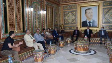 صورة محافظ الحسكة يلتقي الأسرة الإعلامية تحضيراً للاستحقاق الرئاسي