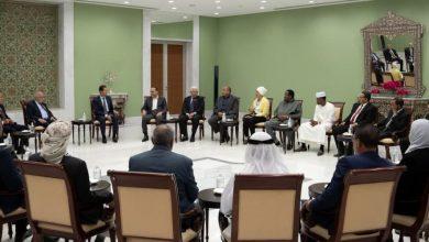صورة الرئيس الأسد: فكرة القومية هي فكرة انتماء مبني على الحقائق ولا يمكن النظر إلى الدول العربية إلا كساحة قومية واحدة