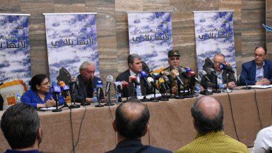 """صورة نجدة أنزور يطلق الملحمة الدرامية """"لأنها بلادي"""""""