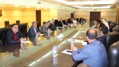 صورة الوزير المقداد لوفد من المؤتمر القومي الإسلامي: لا يمكن لسورية أن تتخلى عن هويتها وانتمائها