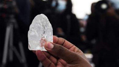 صورة العثور على ثالث أكبر ألماسة بالعالم في بوتسوانا
