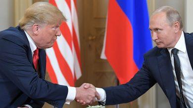 صورة ترامب ينصح بايدن: احترم روسيا