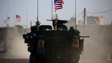 صورة قصف صاروخي على قاعدة للاحتلال الأمريكي في دير الزور