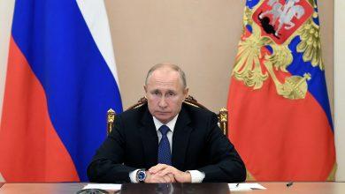 صورة بوتين: العلاقات مع واشنطن بمستوى منخفض ويجب التخلي عن ازدواجية المعايير