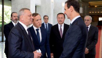 صورة الرئيس الأسد يستقبل يوري بوريسوف نائب رئيس وزراء روسيا الاتحادية