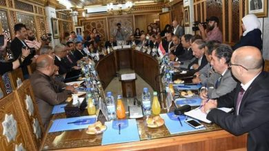 صورة سورية والعراق توقعان مذكرة تفاهم للتعاون العلمي والفني في المجال الزراعي