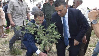 صورة افتتاح حديقة السلام السورية الروسية في جبل السيدة في مشتى الحلو بحضور السفير الروسي