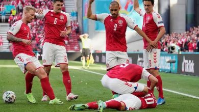 صورة الاتحاد الدنماركي لكرة القدم يكشف آخر تطورات حالة إريكسن
