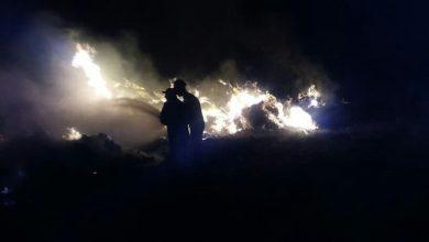 صورة إخماد 3 حرائق بمحاصيل قمح فجر اليوم في حمص
