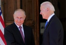 صورة انطلاق لقاء القمة بين بوتين وبايدن